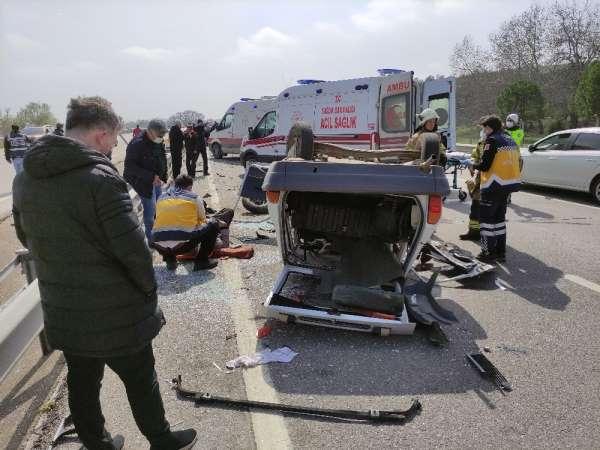 Bursada kaza: Ters yöne girdi, hayatından oldu