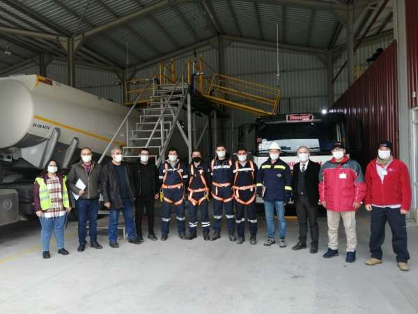 TSE tanker muayene merkezi faaliyete geçti