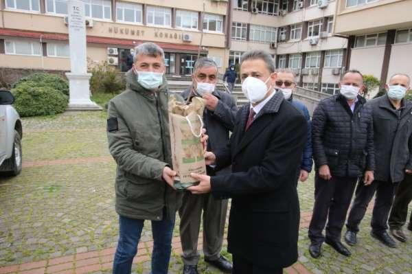 Vali Karaömeroğlu: Geçen sene 400 bin fidan diktik, bu sene 300 bin fidan dikmeyi amaçlıyoruz