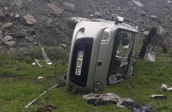Samsun'daki kazada yaralanan kadın hayatını kaybetti