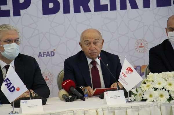 14 federasyon ile AFAD arasında Afet Eğitim İşbirliği Protokolü imzalandı