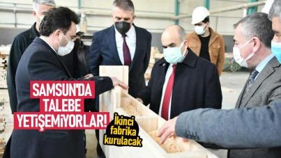 Samsun'da talebe yetişemiyorlar! İkinci fabrika kurulacak