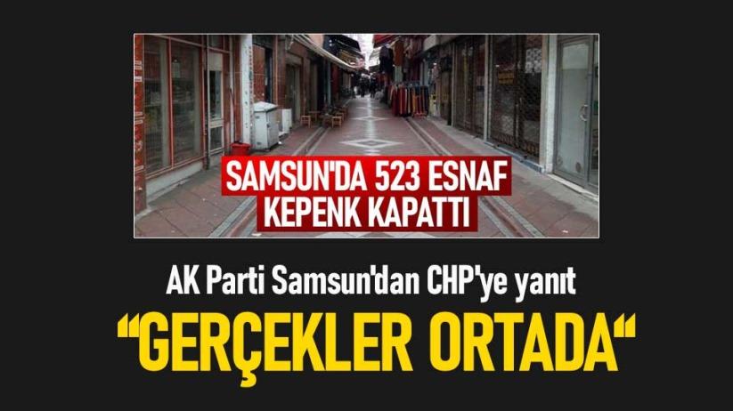 AK Parti Samsundan CHPye yanıt