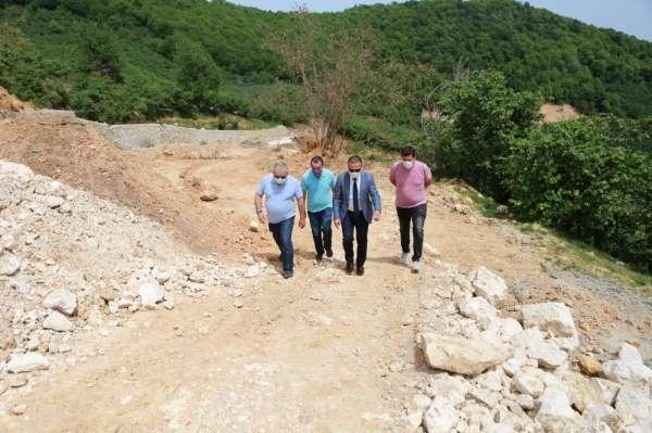 İslamdağ-Beyceli-Fizme Grup yolu sıcak asfalta kavuşuyor