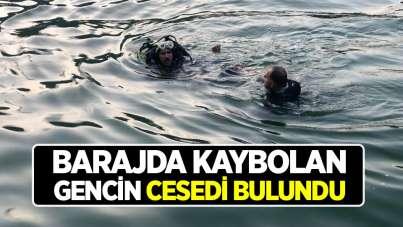 Barajda kaybolan gencin cesedini Samsun itfaiyesi çıkardı