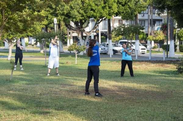 Mersinliler, yeni normalde spor aktivitelerine başladı