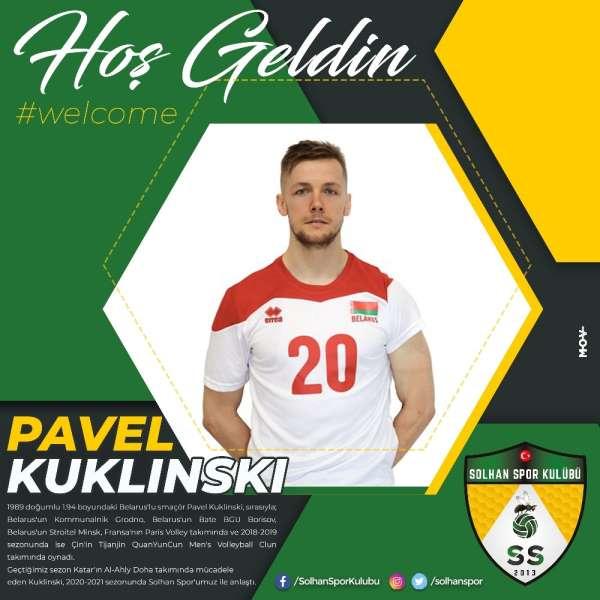 Solhanspor, Belaruslu smaçör Pavel Kuklinski ile anlaştı