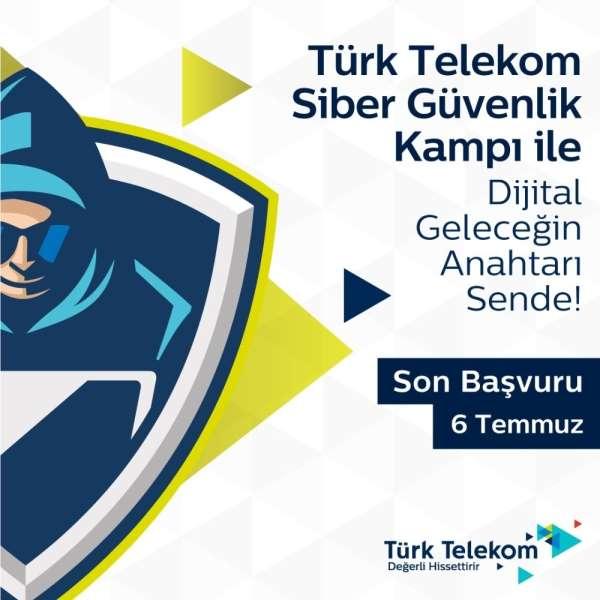 Türk Telekom'dan online 'siber güvenlik' kampı