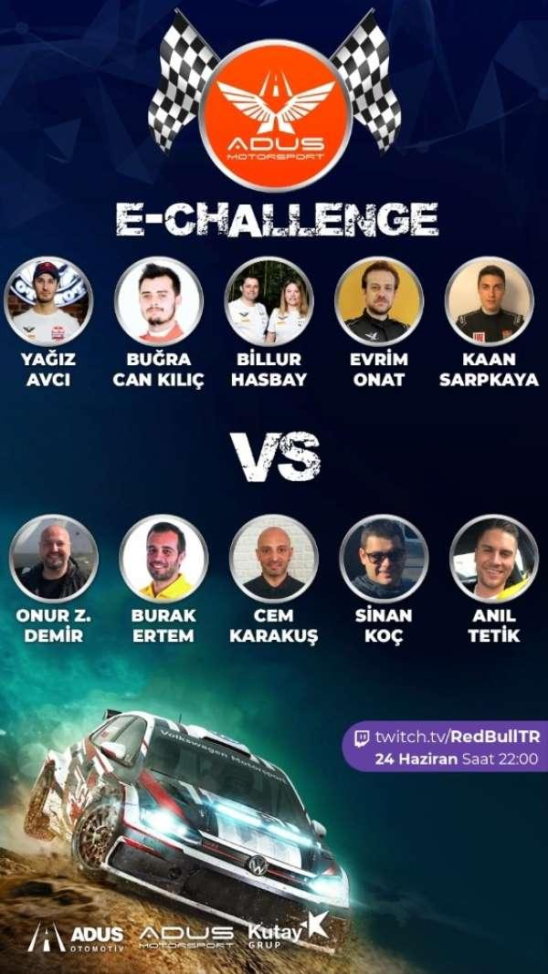 Yarış heyecanı E-Challenge ile devam edecek