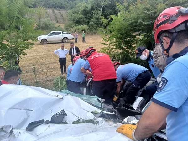 Balıkesirde feci kaza: 3 ölü