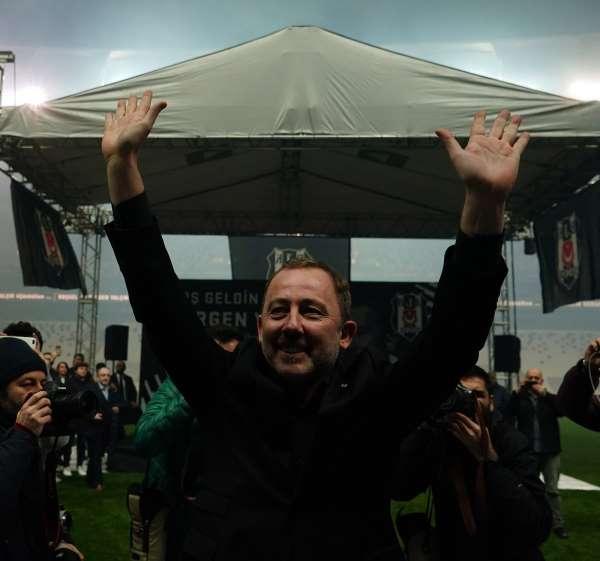 Beşiktaşta Sergen Yalçın dönemi devam ediyor