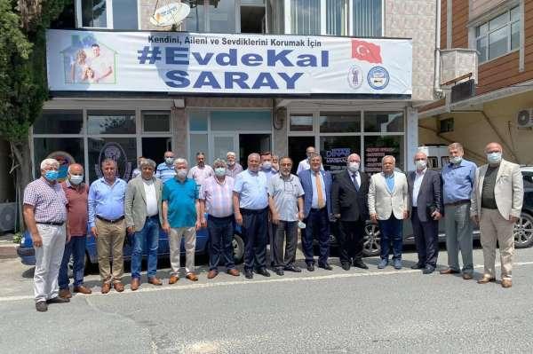 Esnaf Kredi ve Kefalet Kooperatifleri Birliği Sarayda toplandı
