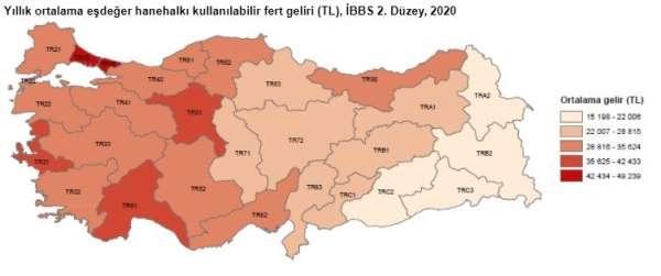 Mersin ve Adanada göreli yoksulluk oranı yüzde 12,2