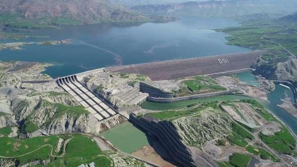 Ilısu Prof. Dr. Veysel Eroğlu Barajı ve HES'ten ekonomiye 2 ayda 200 milyon lira