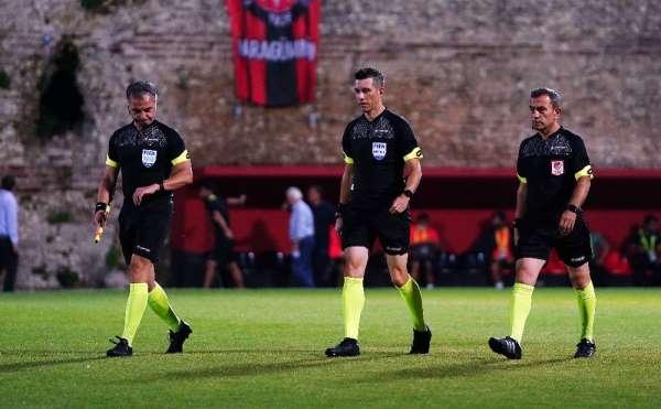 TFF 1. Lig Play-Off Yarı Final: Fatih Karagümrük: 1 - Akhisarspor: 0 (Maç devam