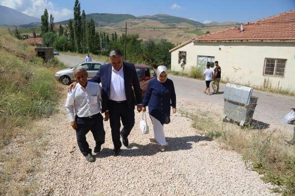 Başkan Cabbardan şehit ailelerine bayram ziyareti