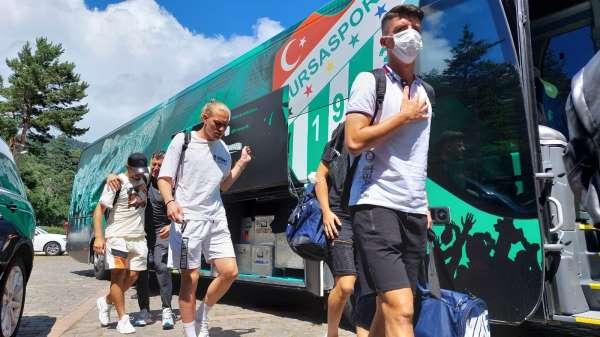 Bursaspor ikinci etap kamp için Boluya gitti