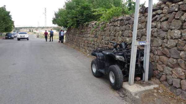 Gençlerin ATV macerası kazayla noktalandı: 2 yaralı