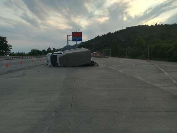 Giresunda trafik kazası: 2 yaralı