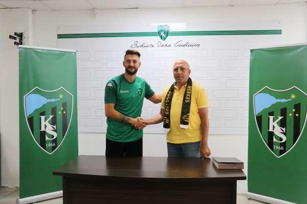 Kocaelispor, Mehmet Taş ile 2 yıllık sözleşme imzaladı