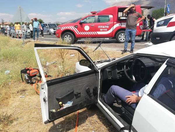 Malatyada feci kaza: 2 ölü, 4 yaralı