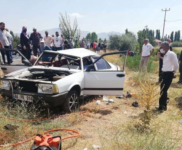 Malatyada trafik kazası: 4 yaralı