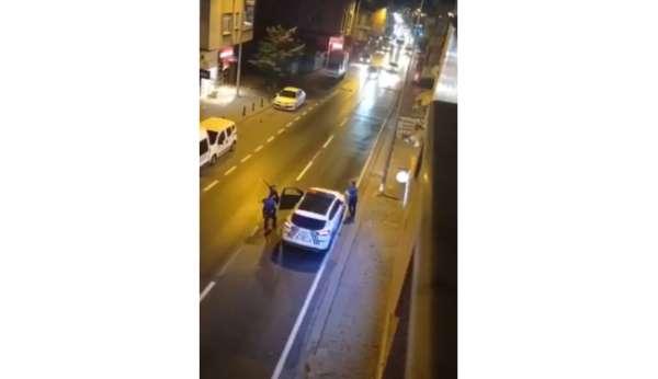 Ümraniyede bıçaklı dehşet: Annesini bıçakladı, ardından polislere saldırdı