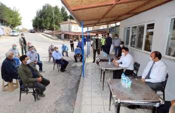 Amasya Valisi Masatlı, köylerde vatandaşların sorunlarını dinledi