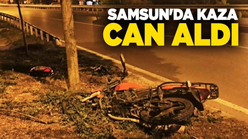 Samsun'da kaza can aldı