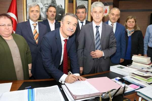 Amasya Üniversitesi ile Tarım ve Orman Bakanlığı 11. Bölge Müdürlüğünden iş birl