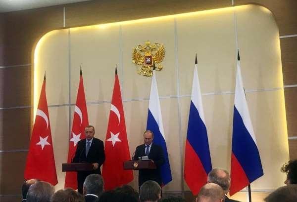 Cumhurbaşkanı Recep Tayyip Erdoğan: 'İdlib yaptığımız görüşmelerin gündemiydi G