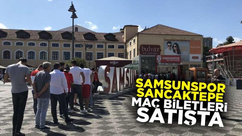 Samsunspor - Sancaktepe maç biletleri