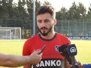 Enver Cenk Şahin: 'Kazanmak için sahaya çıkacağız'
