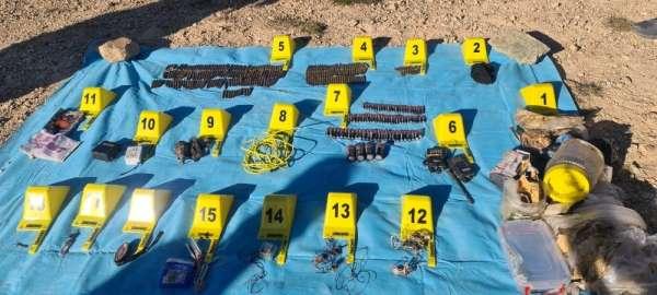 Giresun kırsalındaki terör operasyonlarında 2 adet depo bulundu
