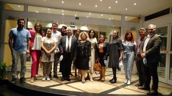 Kırgızistanlı ve Kazakistanlı gazeteciler Marmaris'e geldi