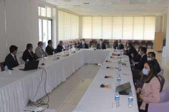 KUZKA Yönetim Kurulu Sinop'ta toplandı