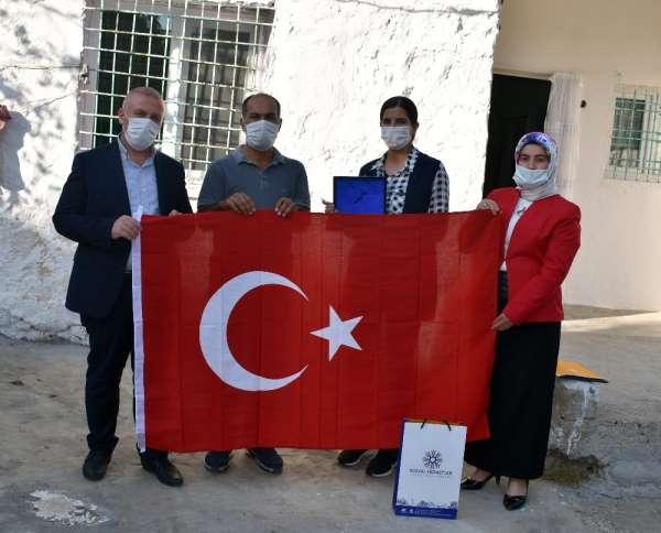 Mardin Büyükşehir Belediyesi şehit yakınları ve gazileri yalnız bırakmıyor