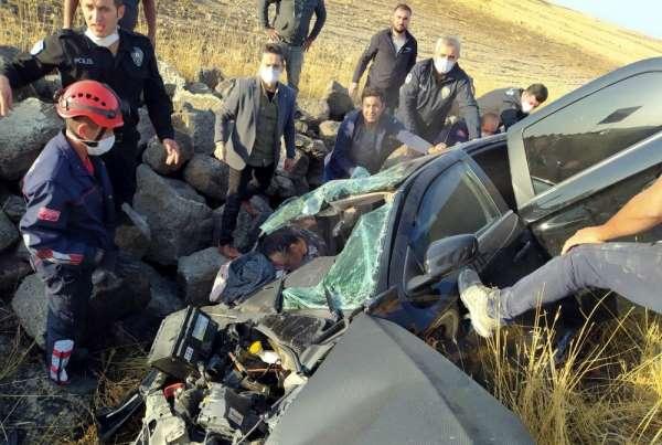 Nevşehir'de feci kaza: 1 ölü, 2 yaralı