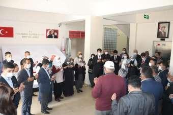 Tufanbeyli'de 'Şehitlik Köşesi' açıldı