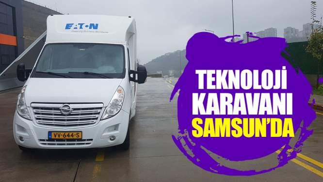 Teknoloji karavanı Samsun'da