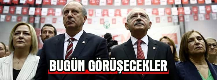 Kılıçdaroğlu ve İnce Bugün Görüşecek