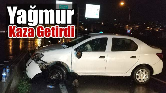 Samsun Haberleri: Trafik Kazası 2 Yaralı