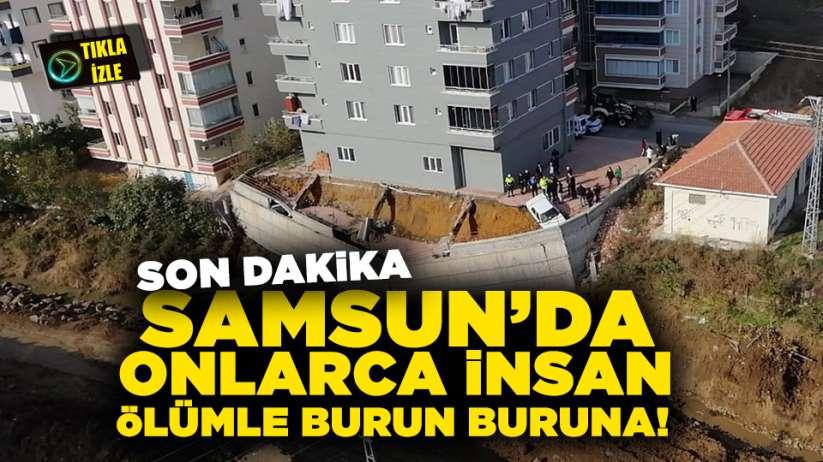 Son Dakika! Samsun'da onlarca insan ölümle burun buruna