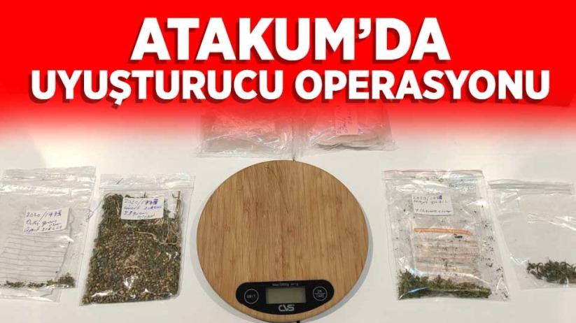 Atakum'da uyuşturucu operasyonu