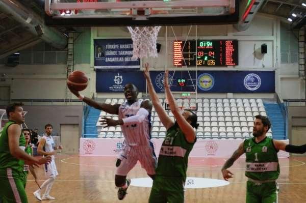 Erkekler Basketbol 1. Ligi: Kocaeli Büyükşehir Belediyesi Kağıtspor: 80 - Mamak