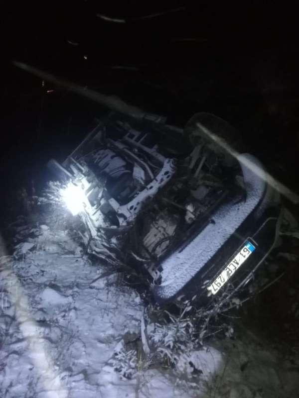 Trabzon'da trafik kazası: 9 yaralı