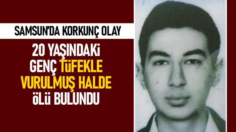 Samsun'da 20 yaşındaki genç ölü bulundu