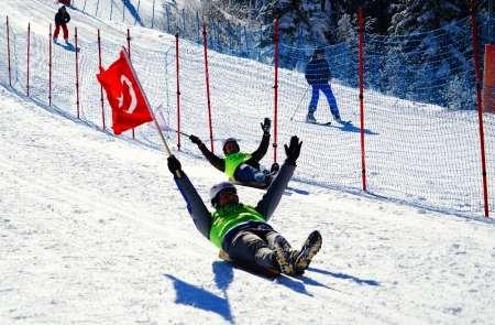 4. Ilgaz Dağı Geleneksel Kızak Yarışları sona erdi