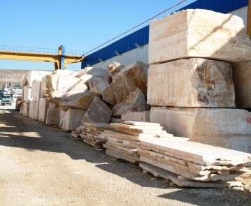 Ege'nin doğal taşları Hindistan pazarına açıldı