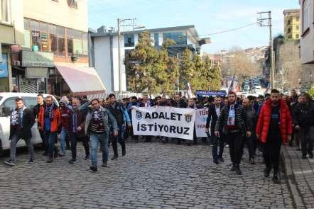 Trabzon'da PFDK ve TFF'ye protesto